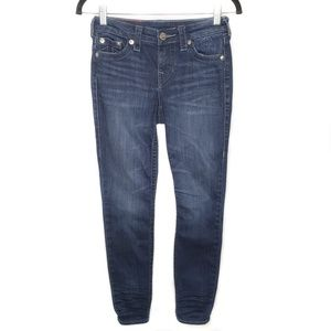 True Religion Dark Blue Super Skinny Jeans…